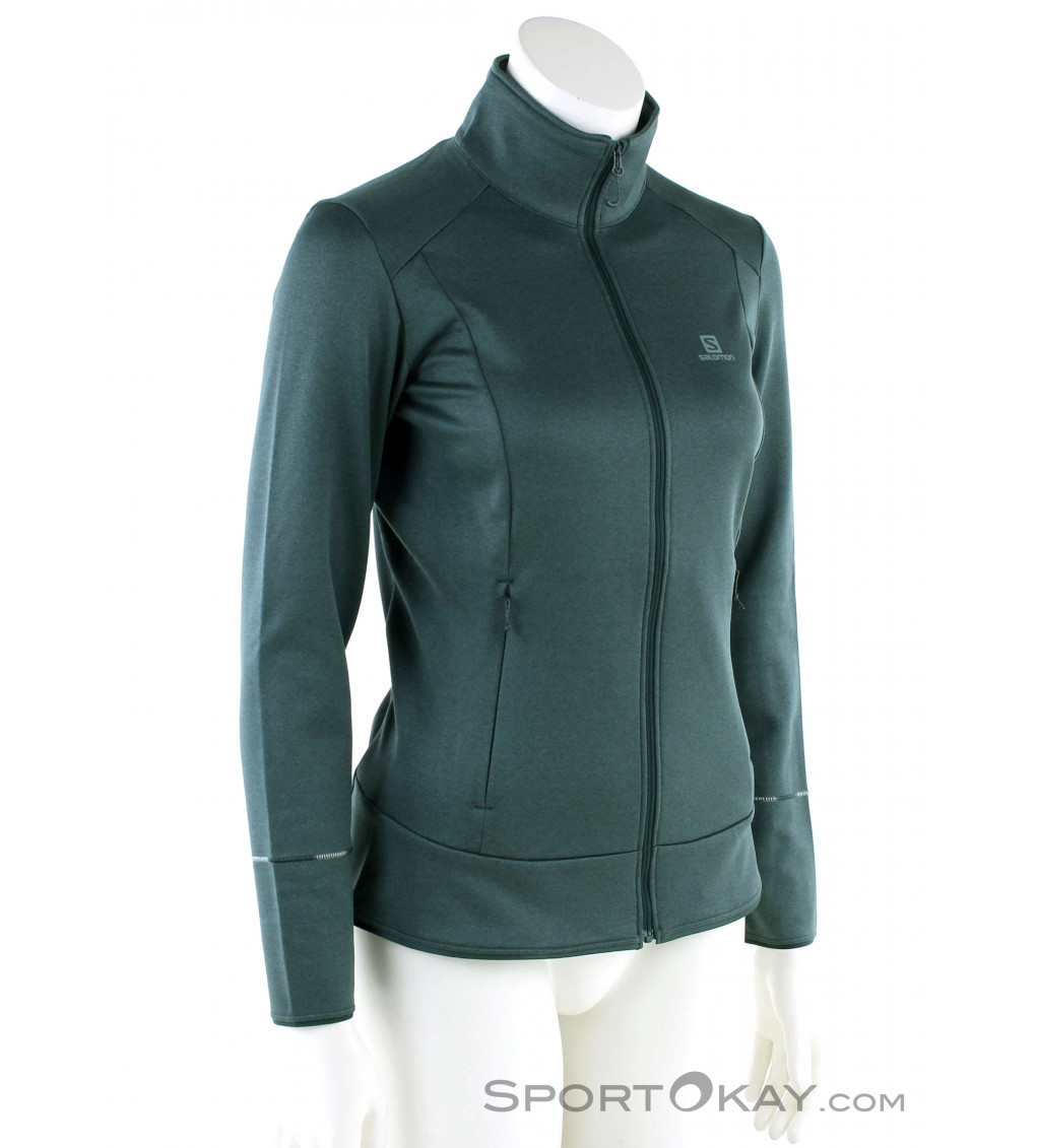 Salomon Discovery FZ Womens Sweater Sweaters Outdoor