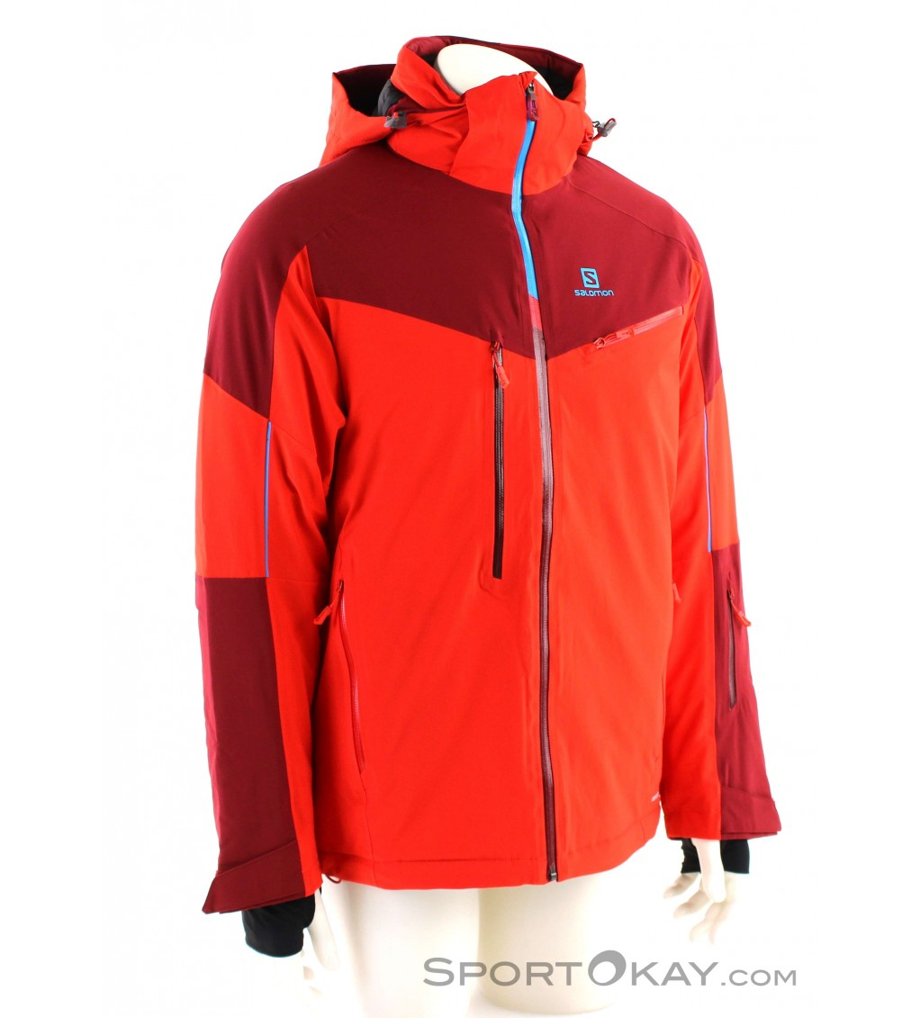 Salomon Icespeed Jacket Mens Ski Jacket Ski Jackets Ski