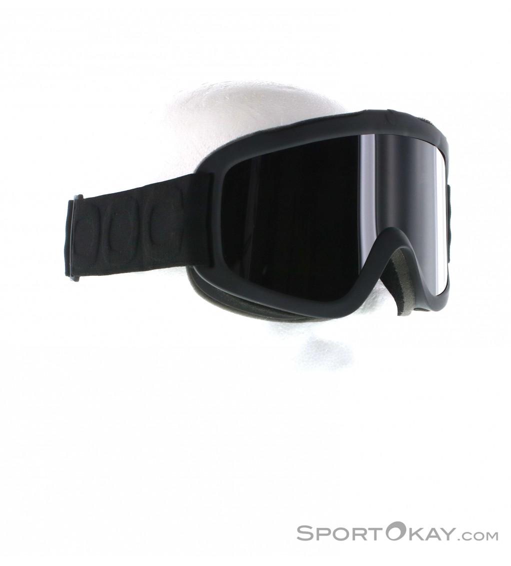 POC Iris X All Black Uranium Black Goggles w// Black Lens