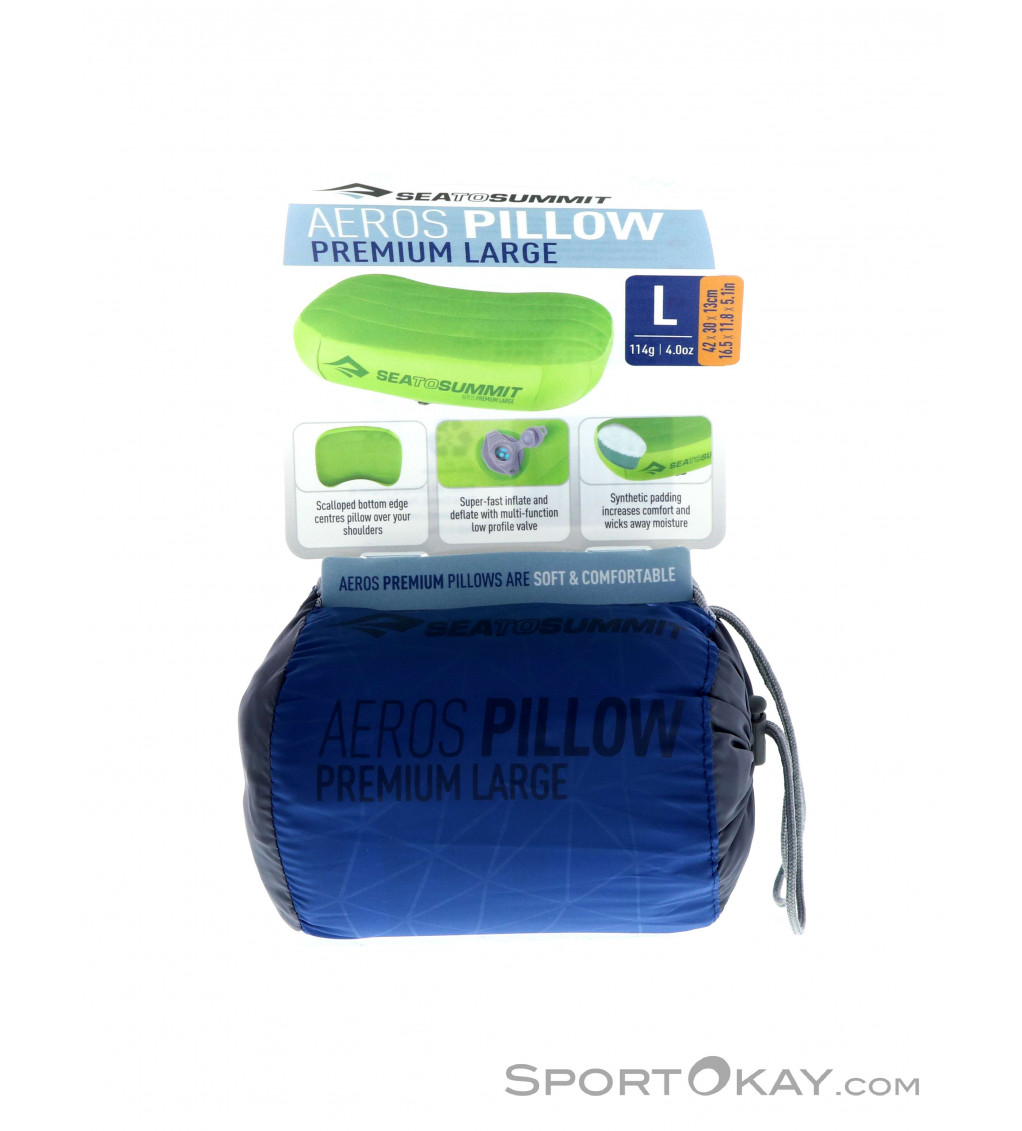 Sea To Summit Aeros Premium Large Pillow Other Camping Outdoor All