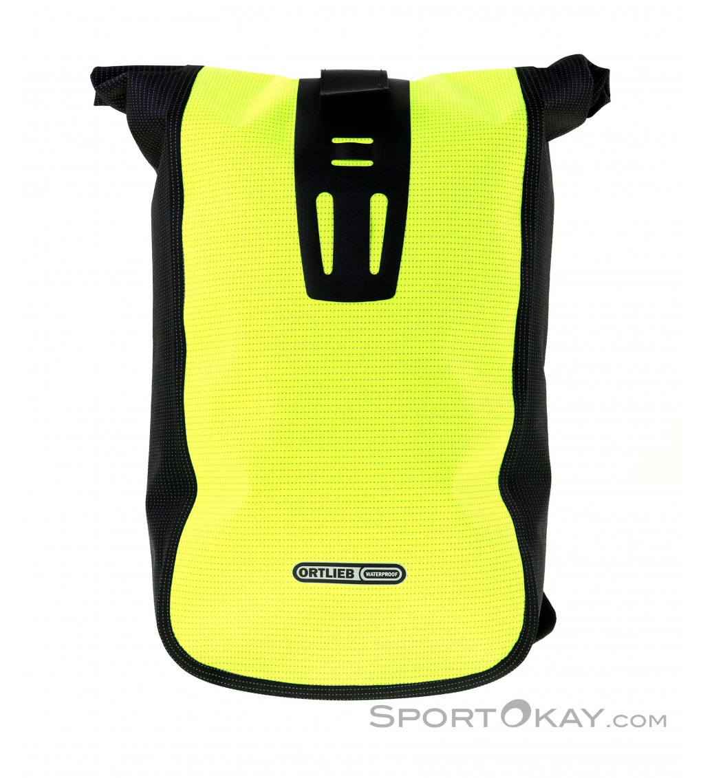 Waterproof Ortlieb Velocity High Visibility Yellow Backpack 24L