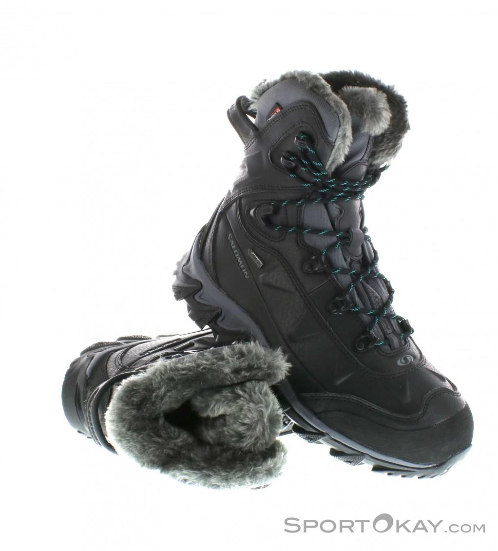 Salomon Salomon Nitro GTX Womens Hiking Boots Gore Tex