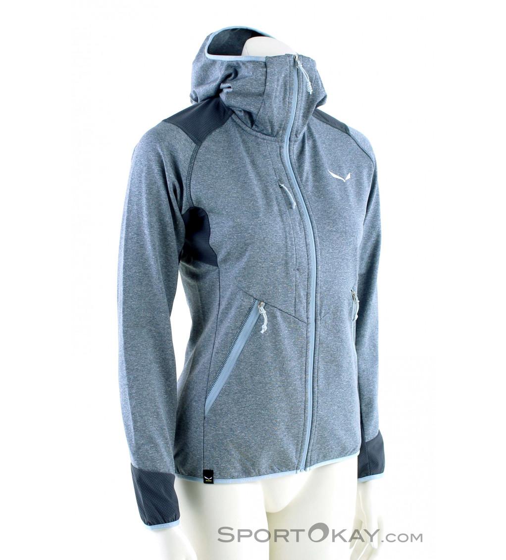 Salewa Damen Fanes Polarlite Full-Zip Pullover