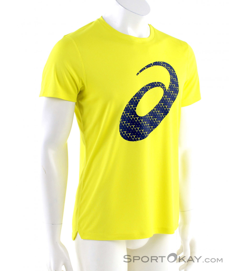 Asics Asics Silver Graphic SS Mens T-Shirt