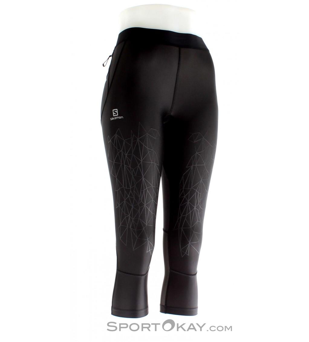 Salomon Salomon Intensity MID Tight Womens Running Shorts