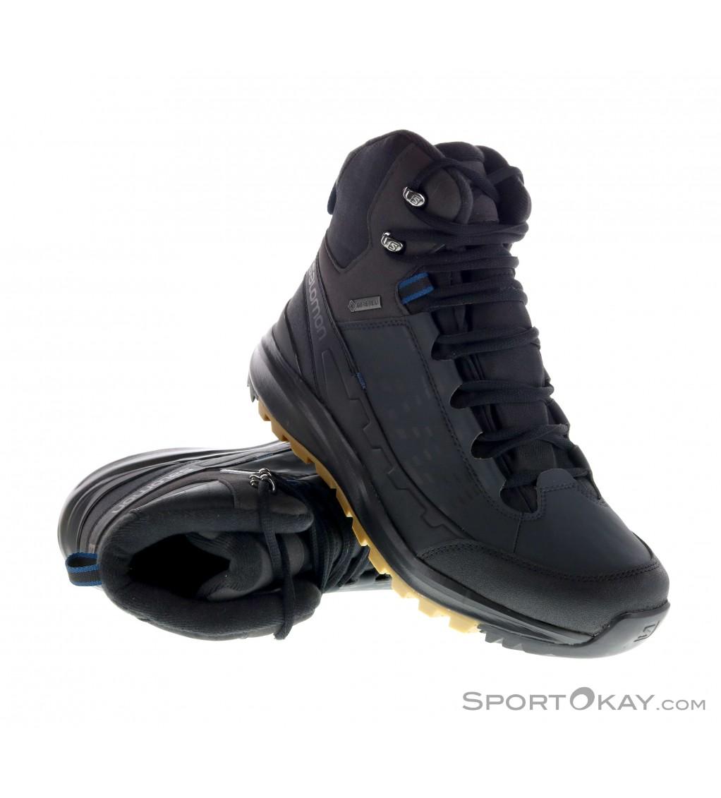 Salomon Salomon Kaipo Mid GTX Mens Winter Shoes Gore Tex