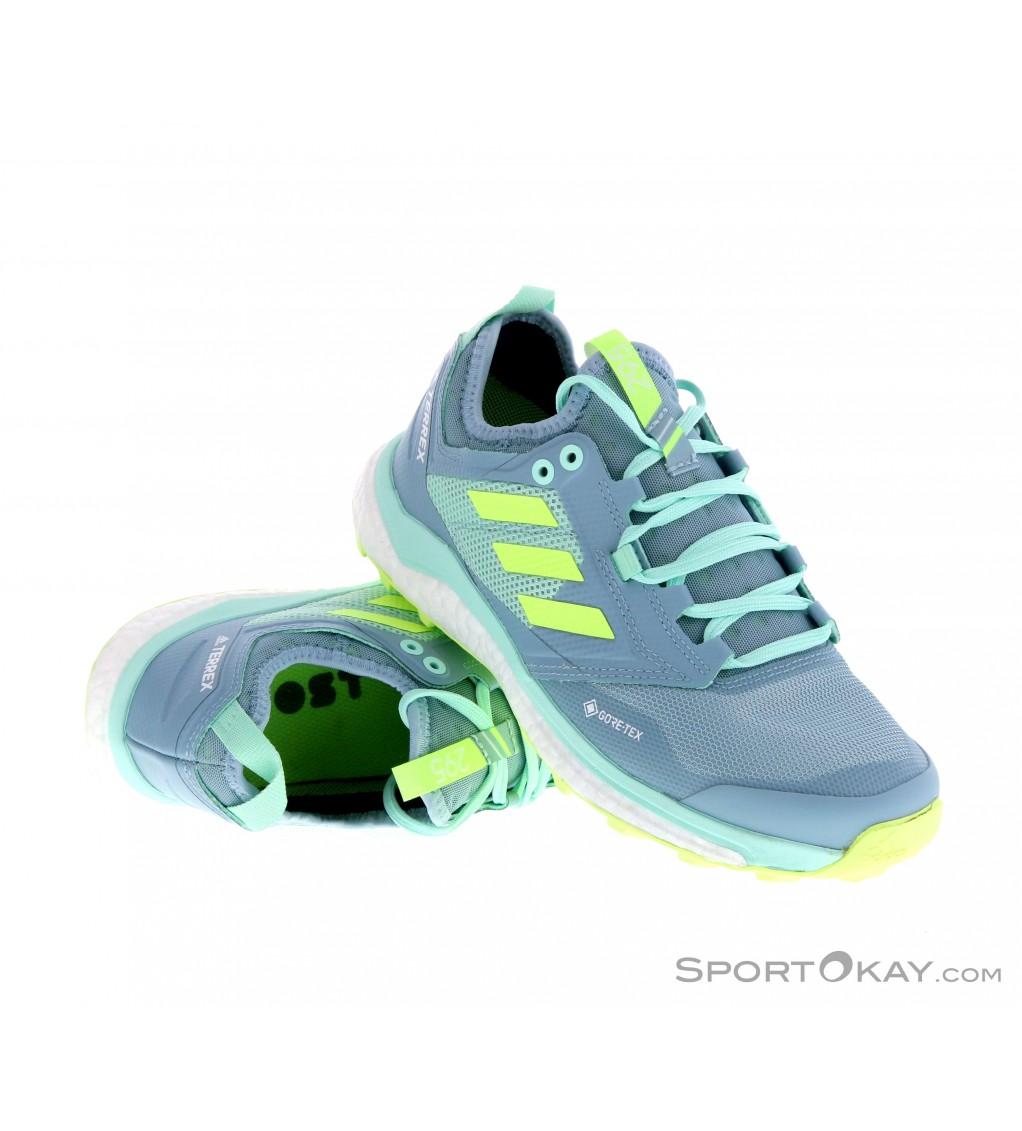 adidas Terrex adidas Terrex Agravic XT Womens Trail Running Shoes Gore-Tex