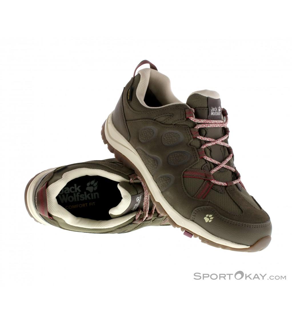 Jack Wolfskin Jack Wolfskin Rocksand Texapore Womens Leisure Shoes