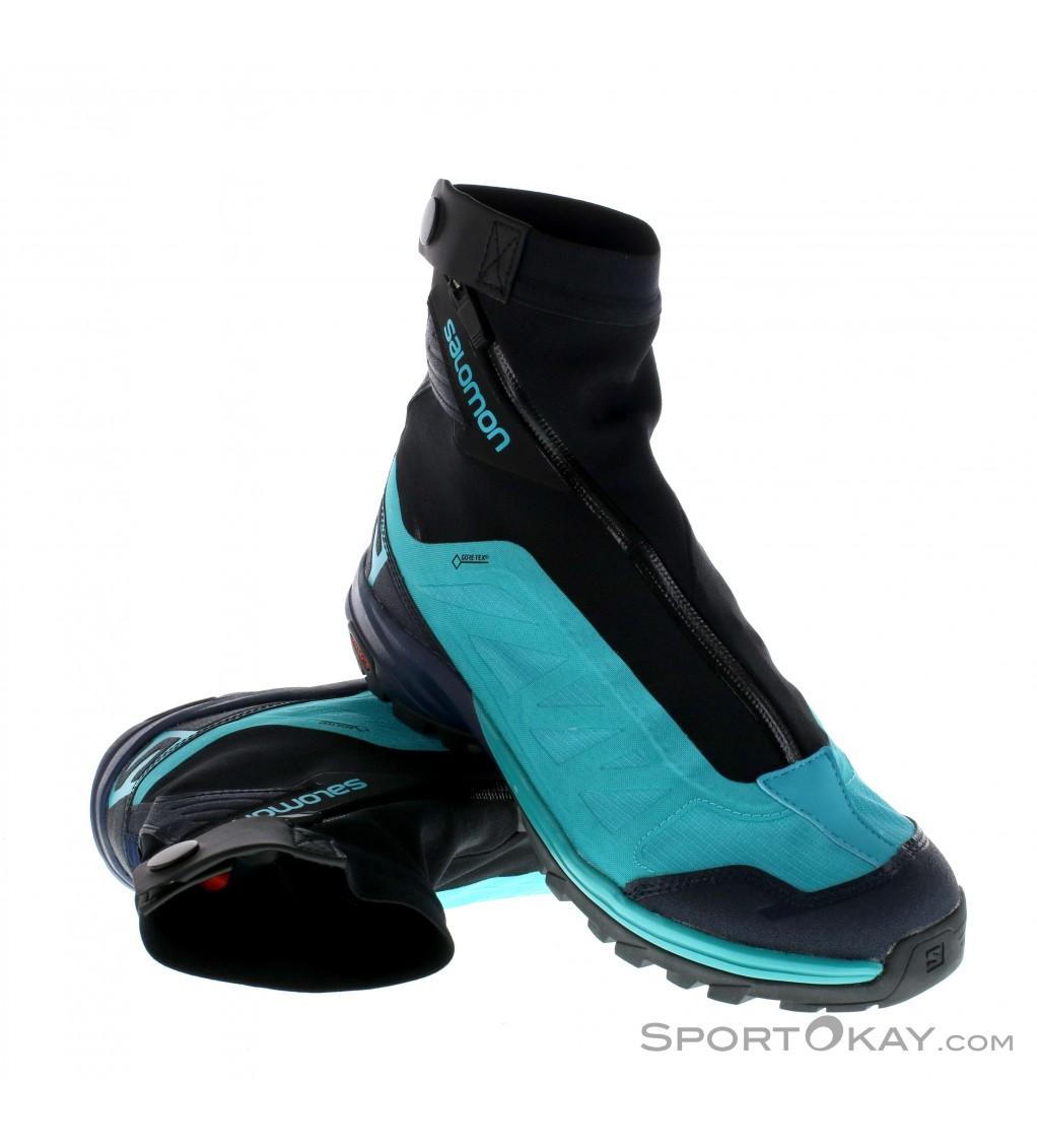 Salomon Outpath Pro GTX Womens Trail Running Shoes Gore Tex