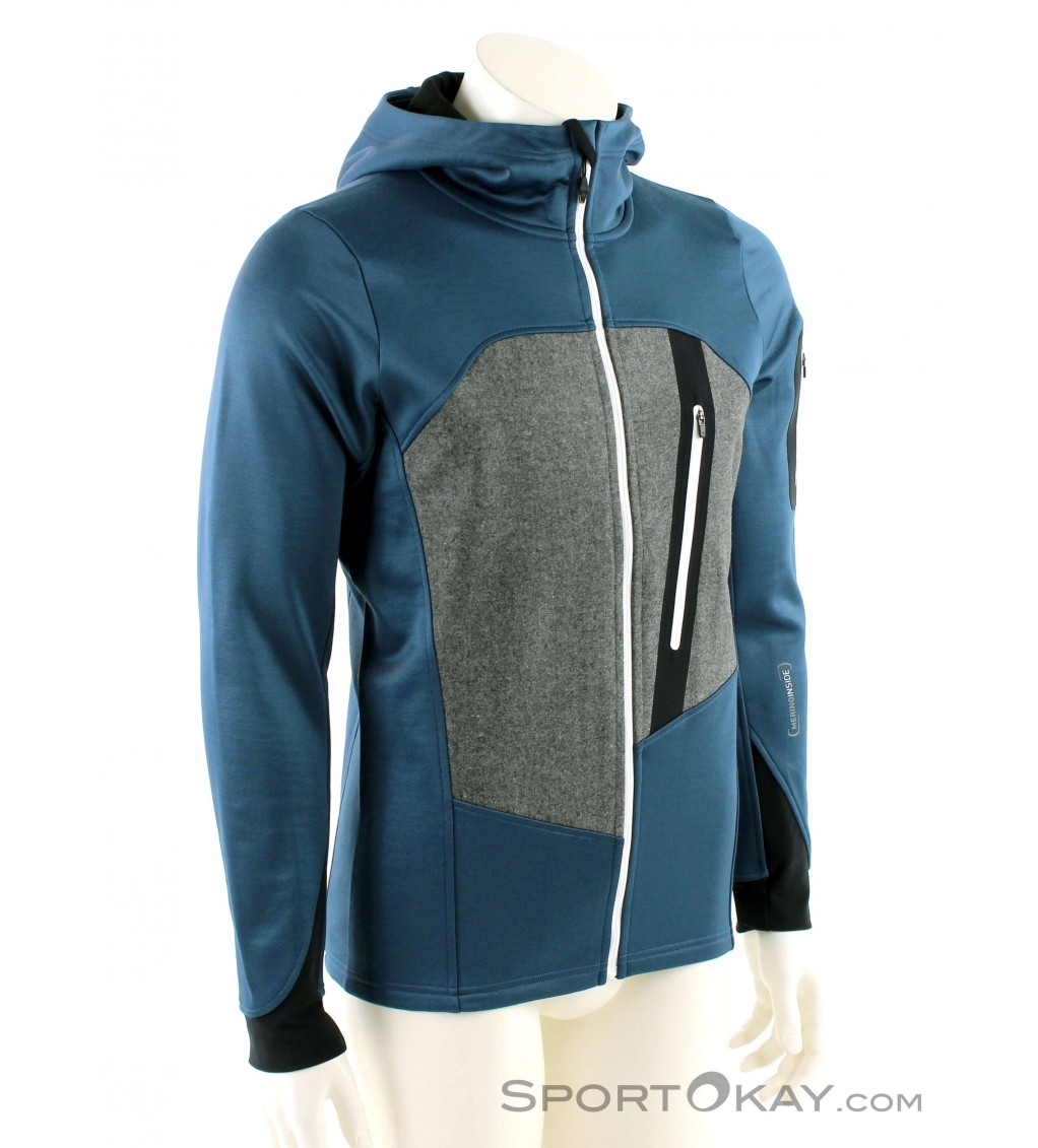 Ortovox Fleece Loden Hoody Mens Fleece Jacket Sweaters Outdoor Clothing Outdoor All
