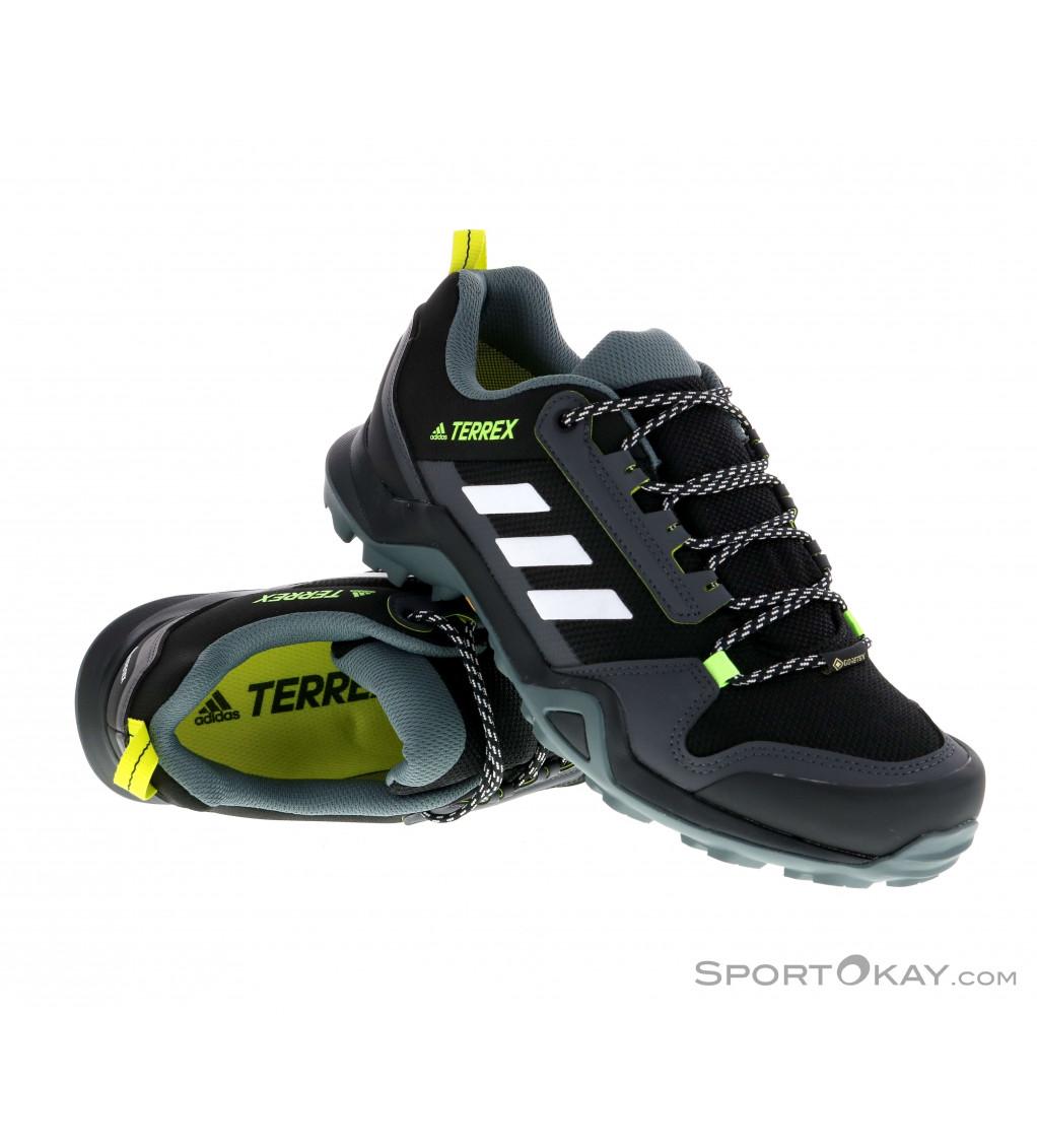 adidas Terrex adidas Terrex AX3 GTX Mens Trekking Shoes Gore-Tex
