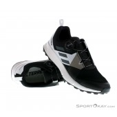 adidas Mens Terrex Two Boa GORE-TEX Trail Running Shoes Trainers Black Sports